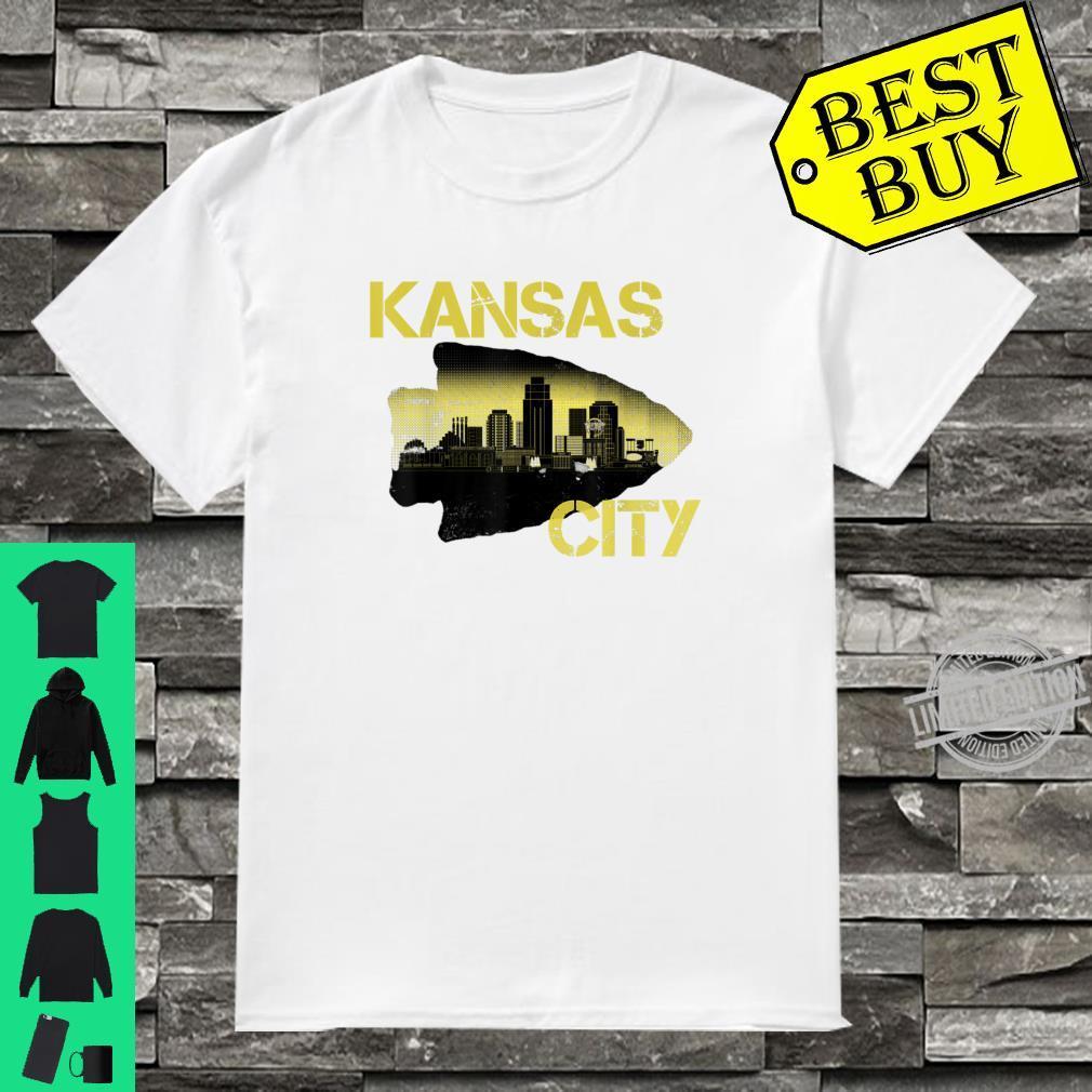 Retro Vintage Kansas CityFootball Fans KC Missouri Shirt