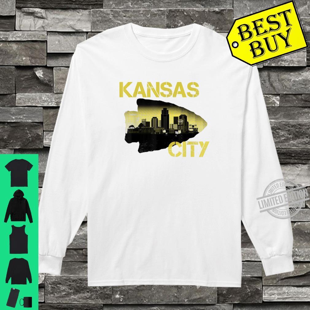 Retro Vintage Kansas CityFootball Fans KC Missouri Shirt long sleeved
