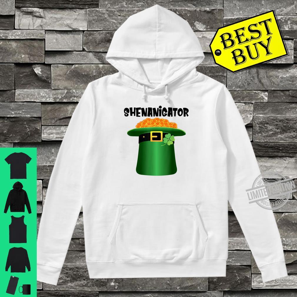 Shenanigator Leprechaun Hat St.Patrick's Day Shenanigans Shirt hoodie