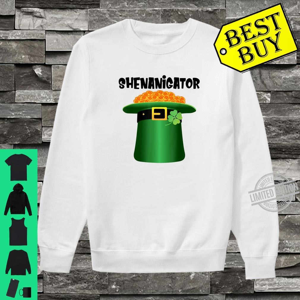 Shenanigator Leprechaun Hat St.Patrick's Day Shenanigans Shirt sweater