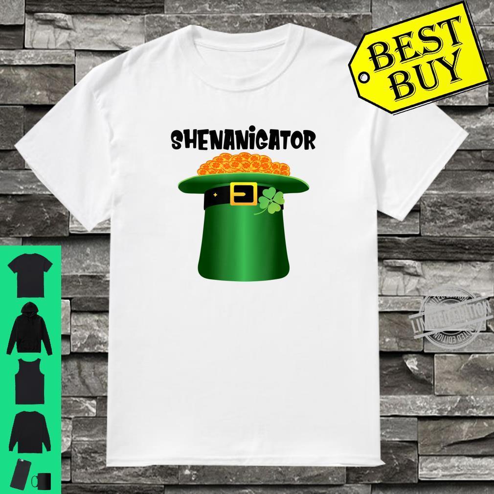 Shenanigator Leprechaun Hat St.Patrick's Day Shenanigans Shirt