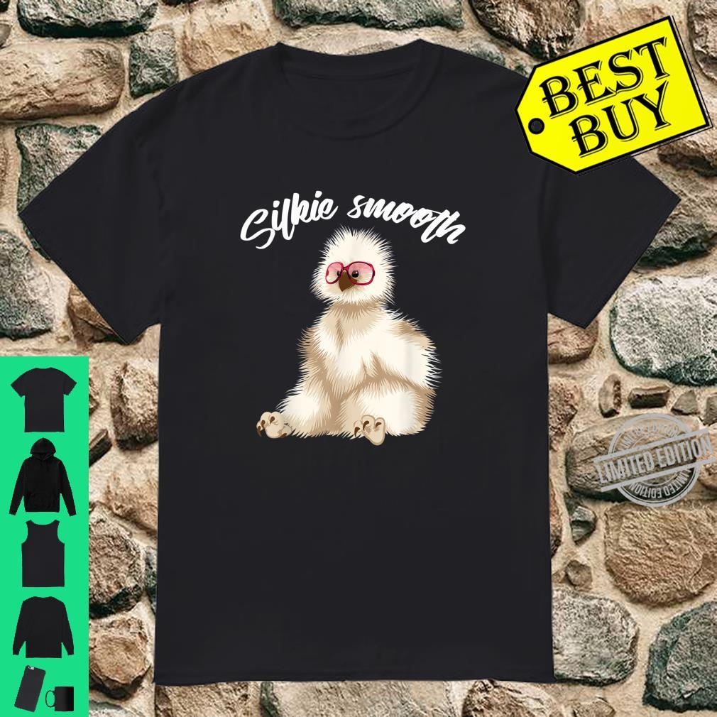 Silkie Smooth Cute Fluffy Chicken Owner Farming Shirt