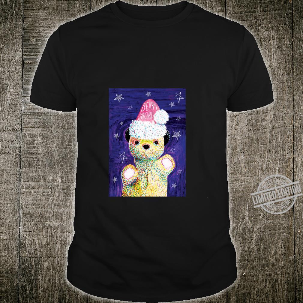 Sooty Xmas Art Print Beary Xmas Shirt