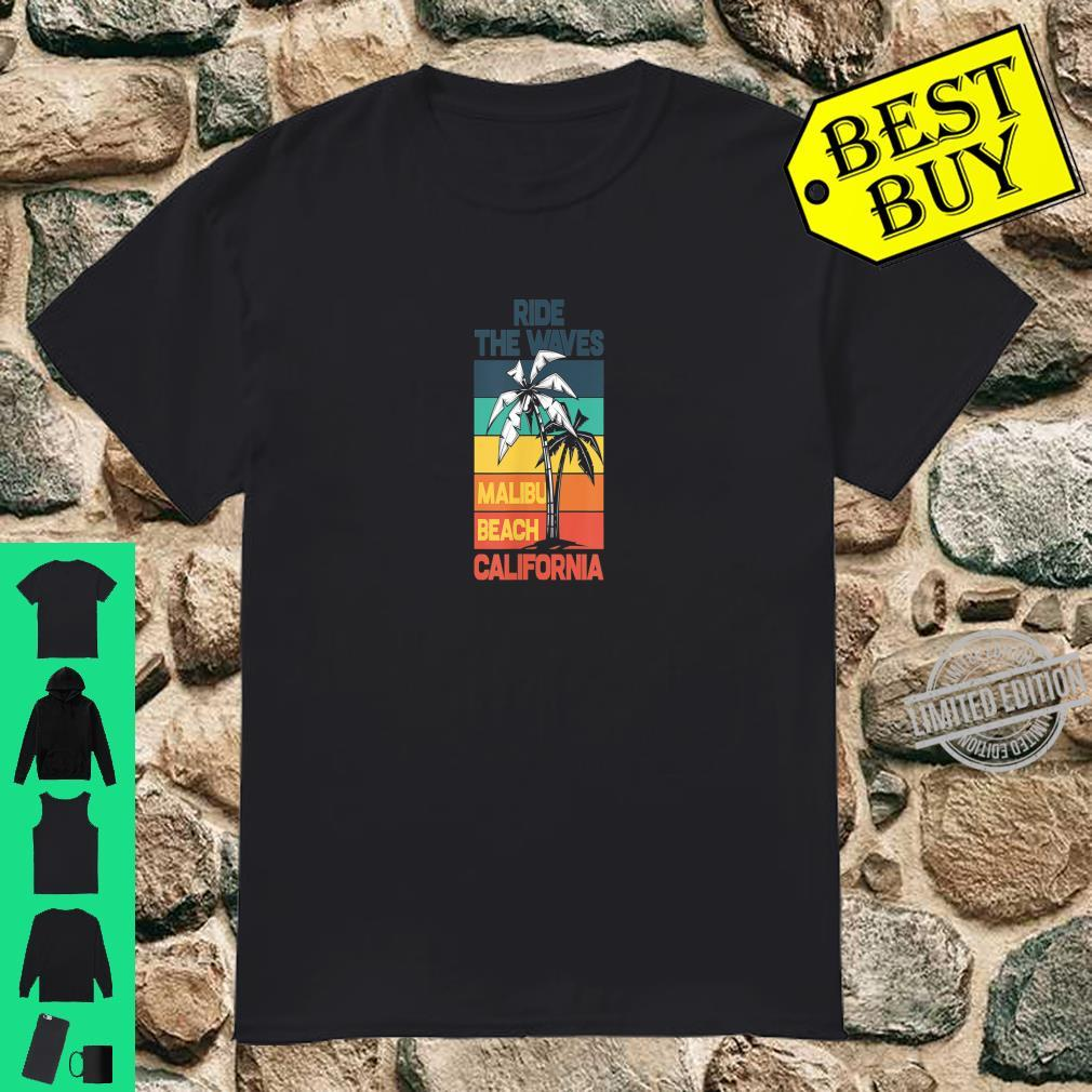 Summer Feelings By Riding The Big Wave Design For Surfer Shirt