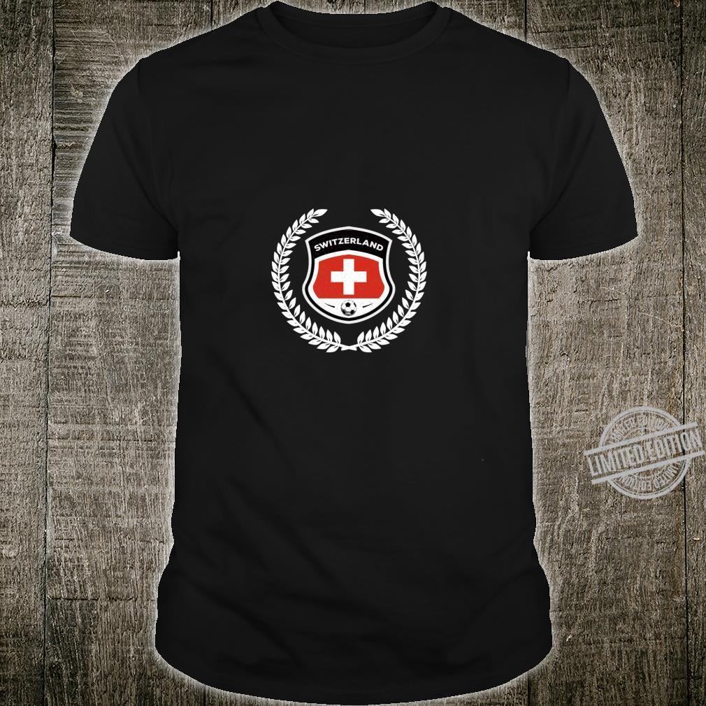 Switzerland Soccer Football Team Fan Shirt