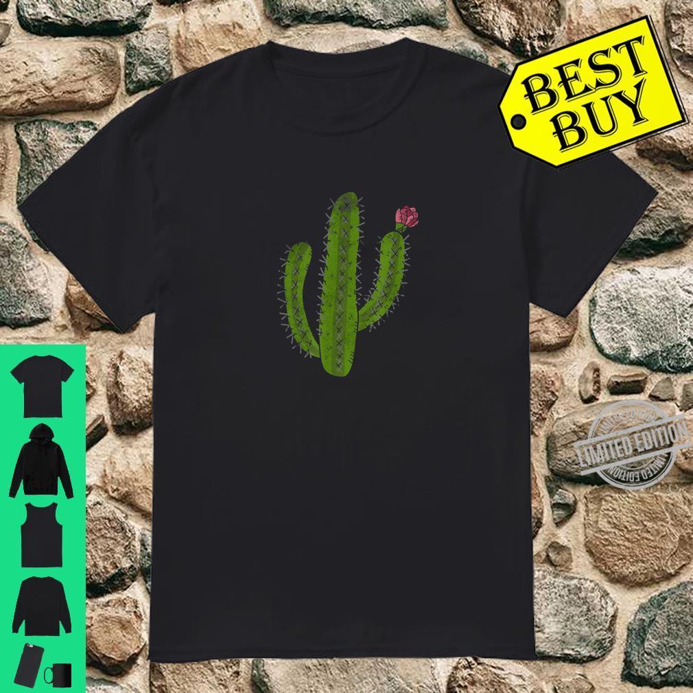 Vintage Cactus Flower retro design for nature Shirt